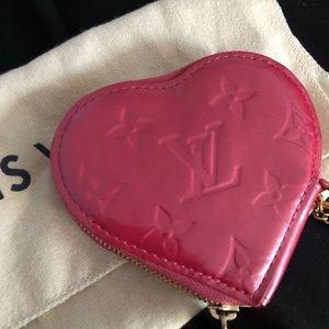 Louis vuitton heart wallet